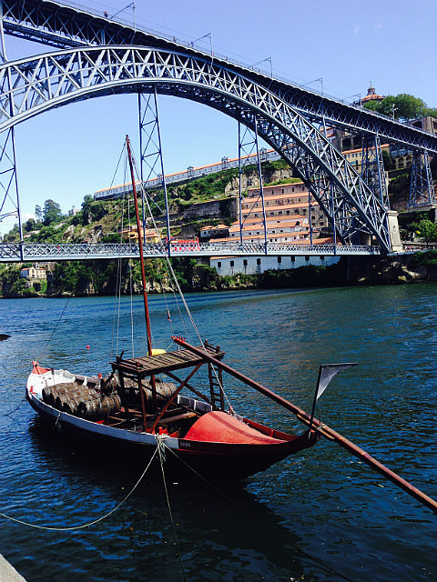 Boat on the River Douro
