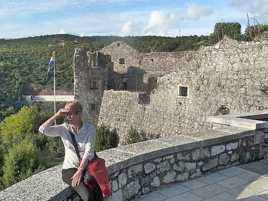 Mum at castle