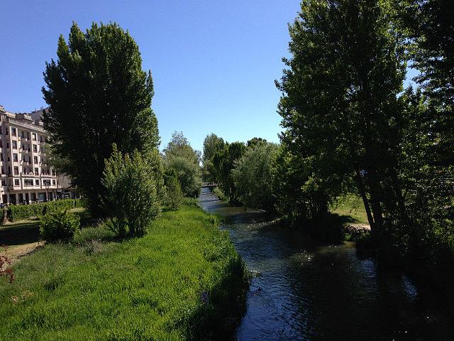 Following the river into Burgos