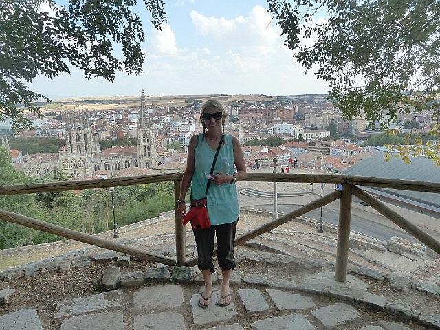 View over Burgos