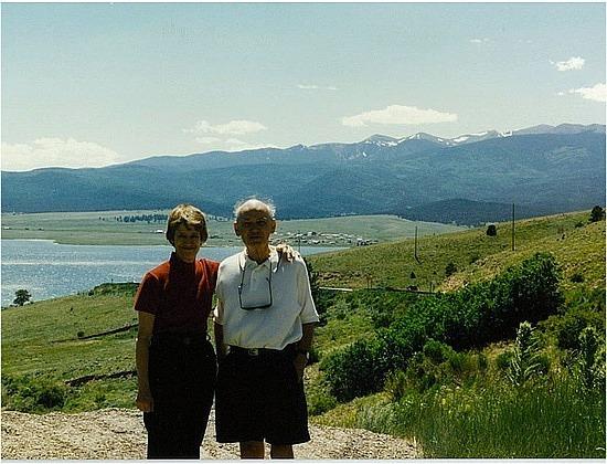 Mum & Dad at Eagle Lake