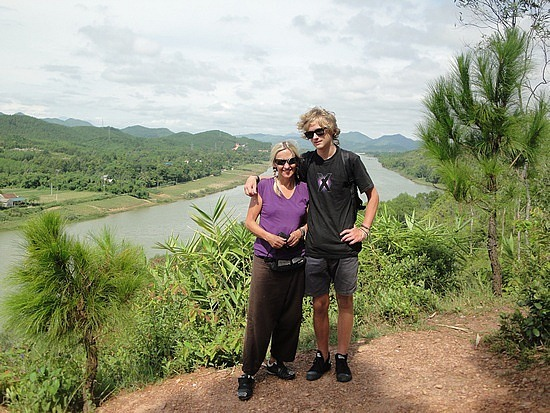 Lookout over Perfume River