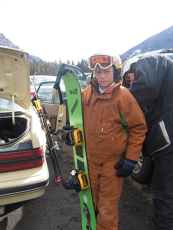 Nath ready to hit the slopes