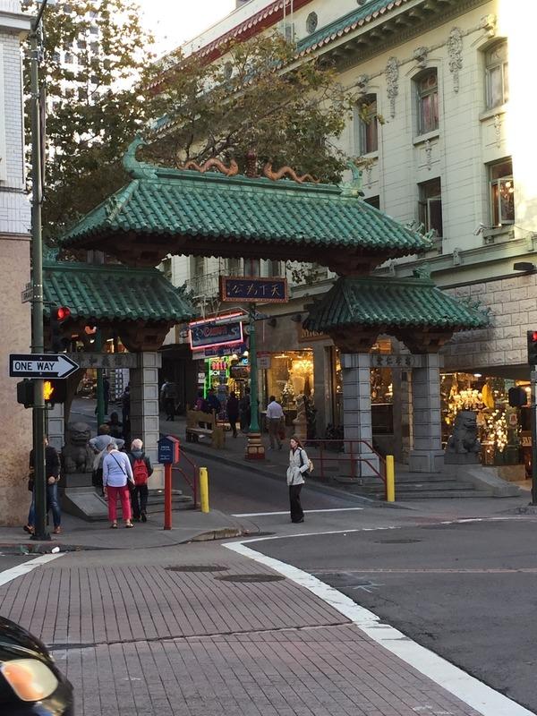 Chinatown gates