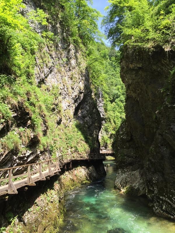 Gorge narrows