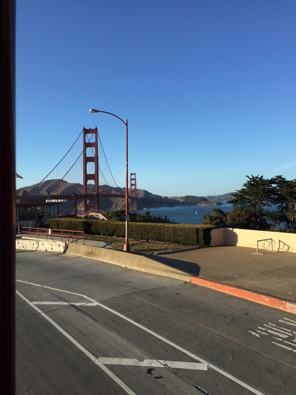 Heading to the Golden Gate