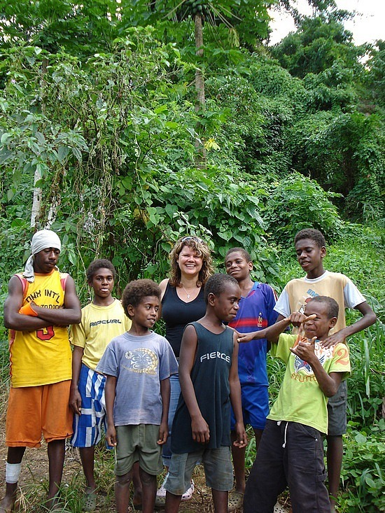 Gail & our guides