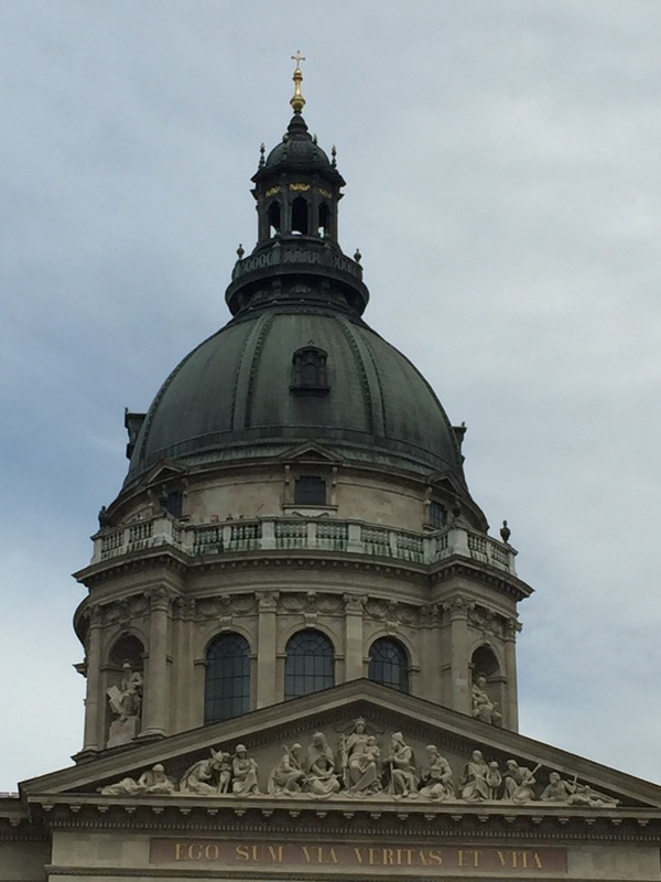 Balcony below the dome I climbed up