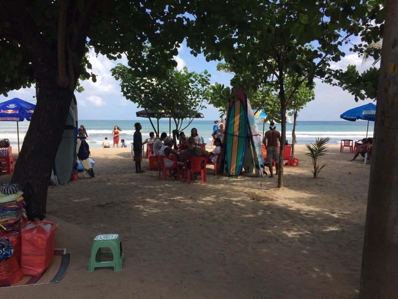 Kuta Beach - you can buy anything