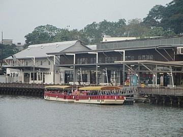 Melaka River Cruise boat