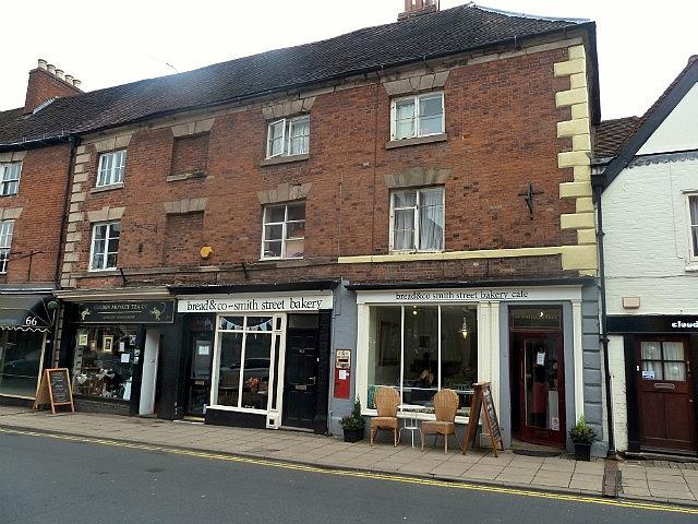 Sephen's shop & house above