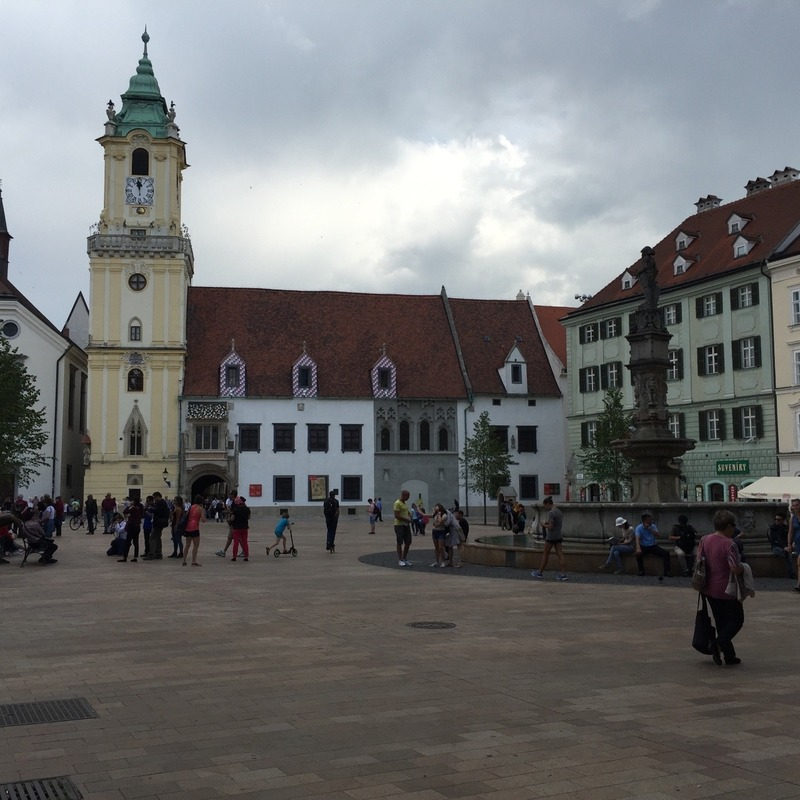 Main Square with fountain