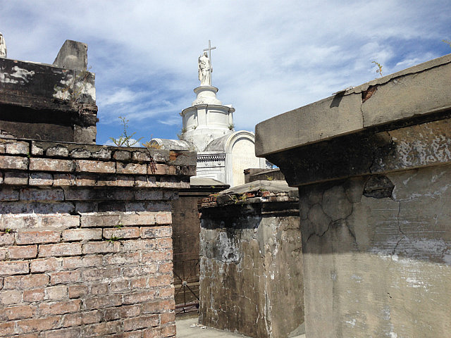 Above ground graves
