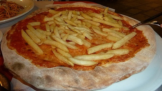 Chip pizza