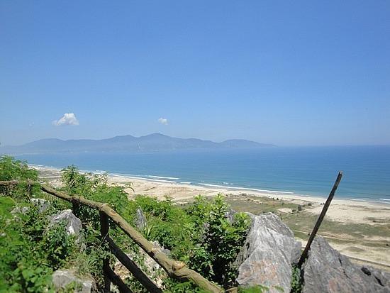 View of China Beach & south China Sea