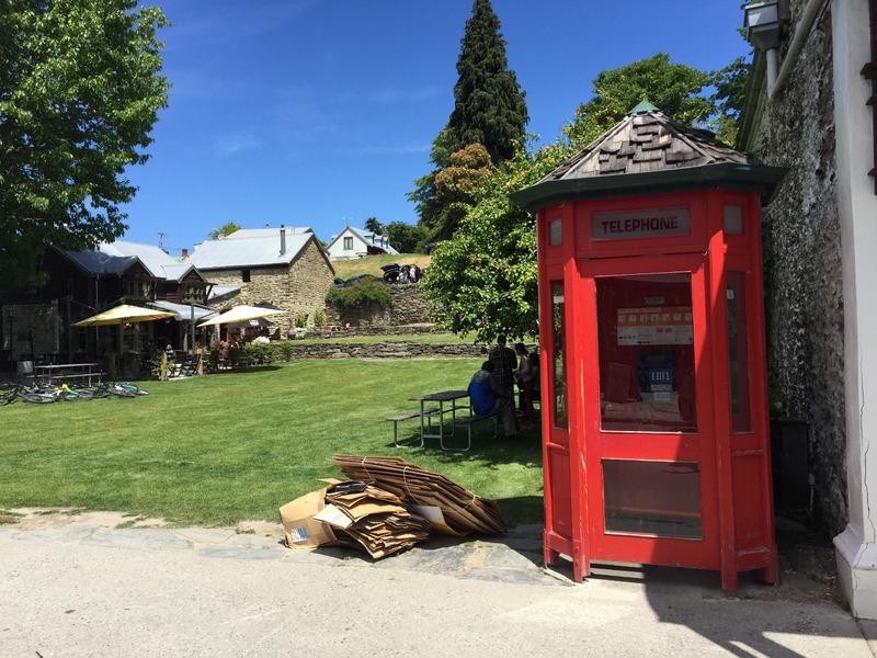 Old phone box