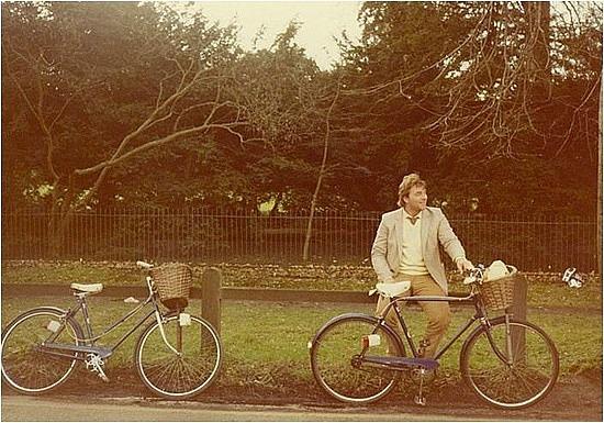 Brad loved bike riding
