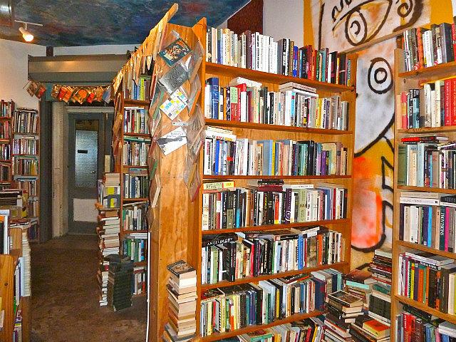 Eclectic bookshop