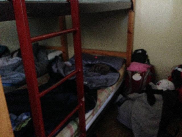My bottom bunk