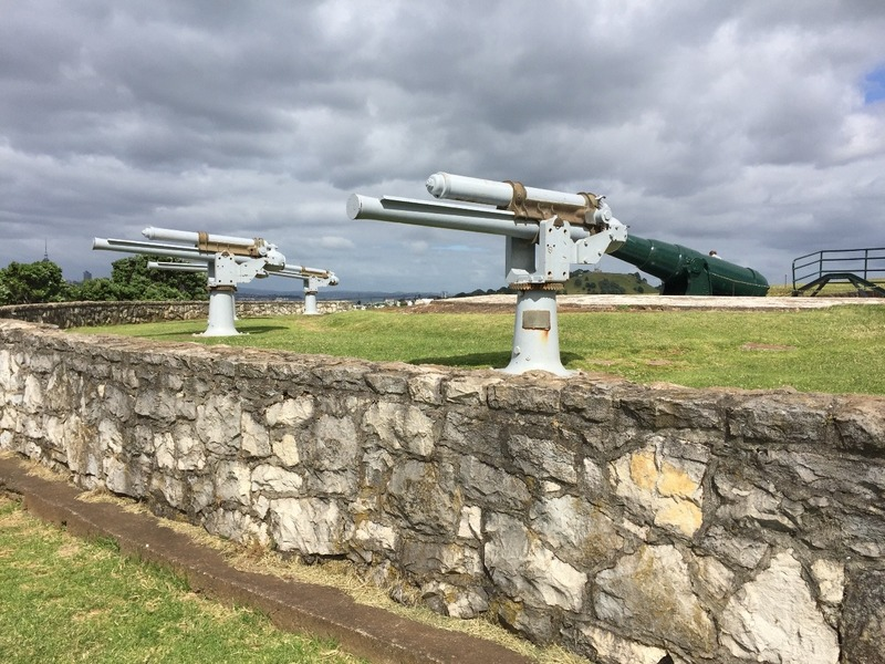 Guns on North Head