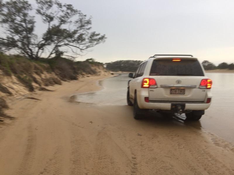 Creek driving