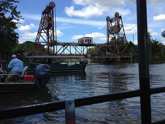 Bridge over the bayou