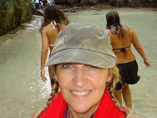 Me on Phi Phi Lei Island