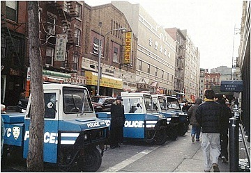 Police in Chinatown