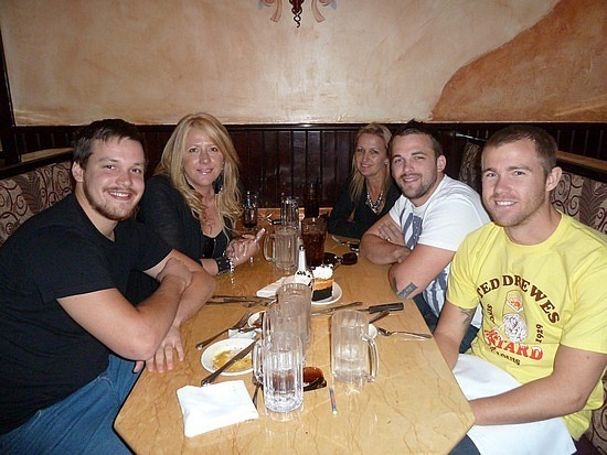 Lunch at Cheesecake Factory