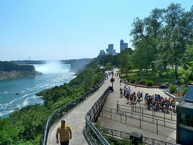 Parks along Canadian Side