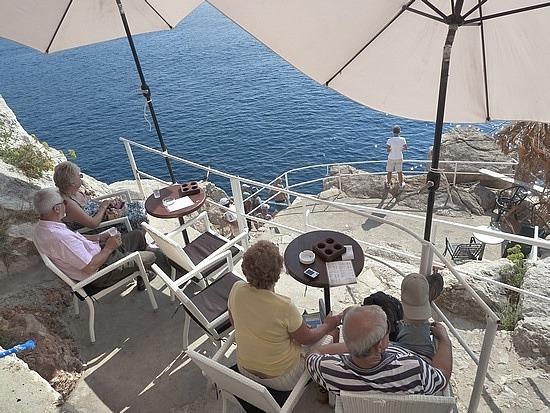 Cliff side cafe