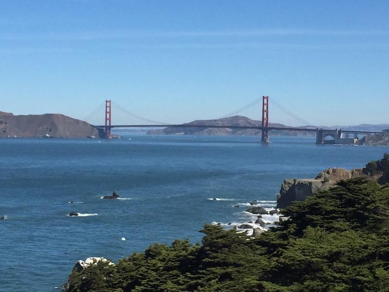 Golden Gate Bridge from Lands End