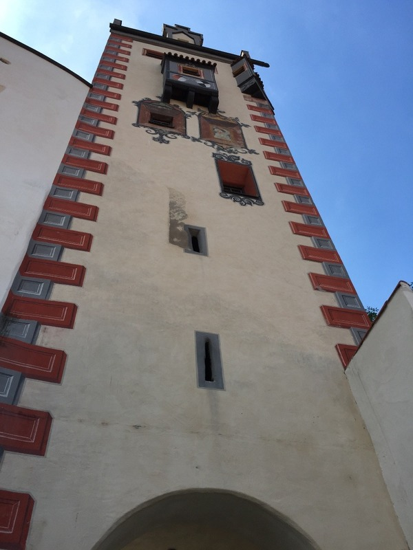 Fussen church tower