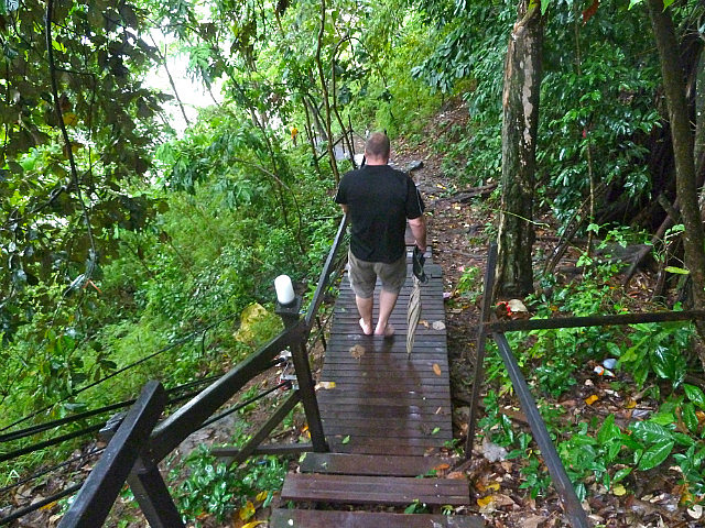 Brad on the Monkey trail