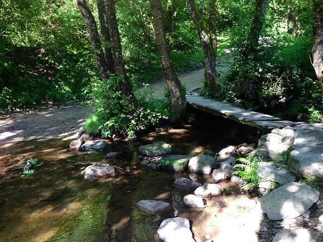 Streams and stone bridges
