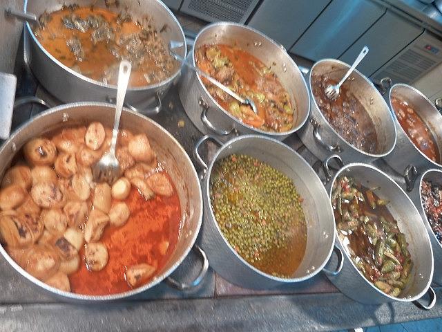 Our yummy greek lunch