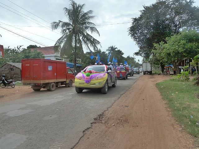 Decorated cars