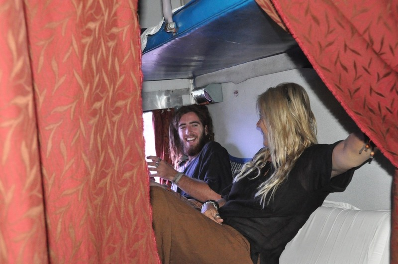 Leigh and Mitch's bunks