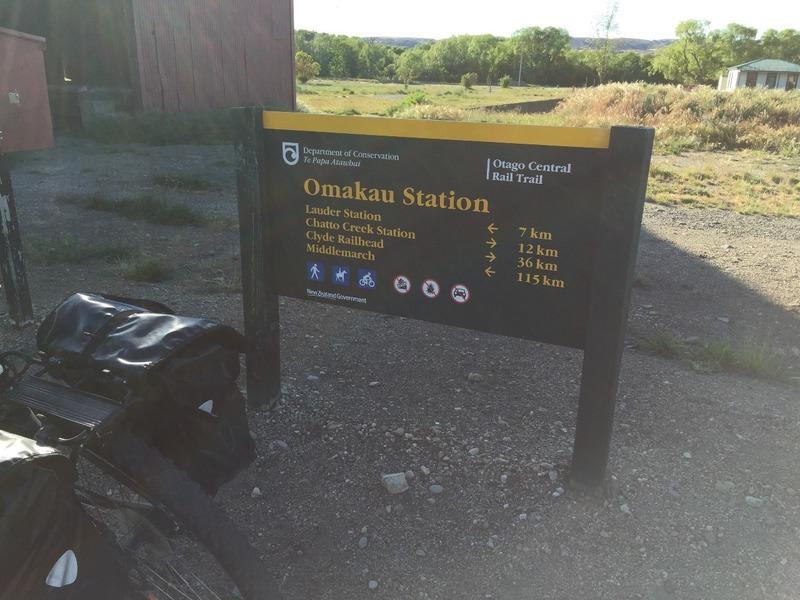Omakau station
