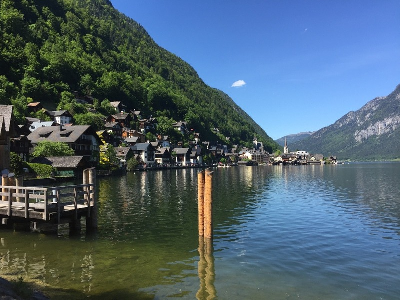 Hallstatt arriving by ferry
