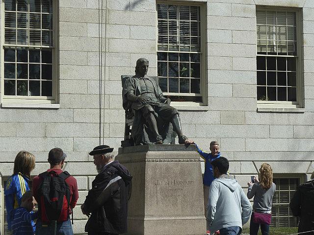 Statue of Harvard