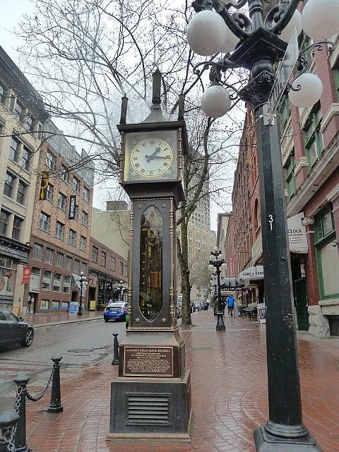 Gas Clock in historic gastown