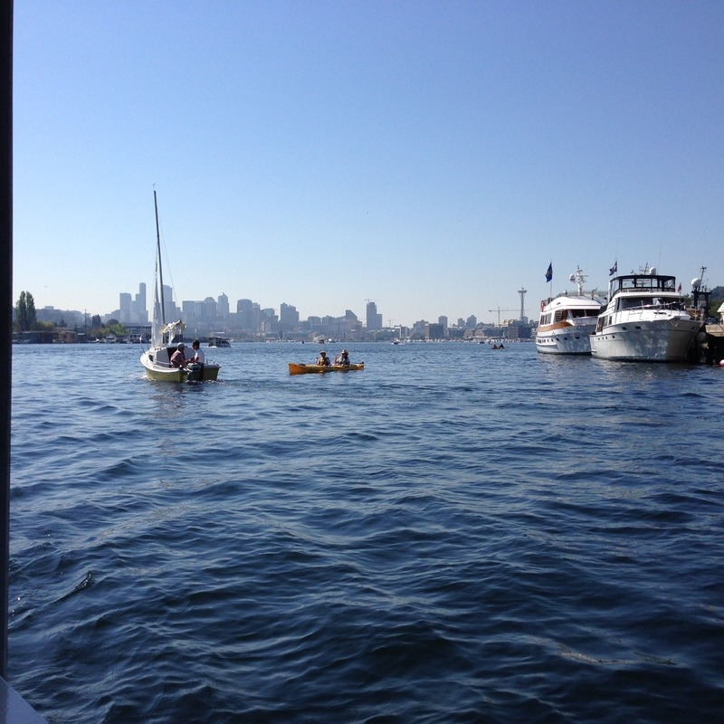 Boats - big and small