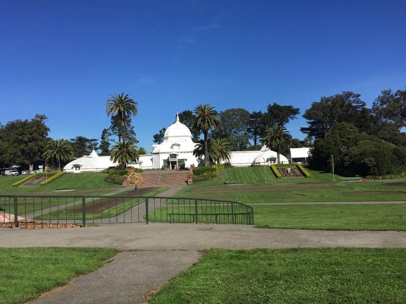 Flower Conservatory in Golden Gate Park