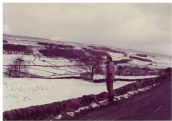 Snow north of York