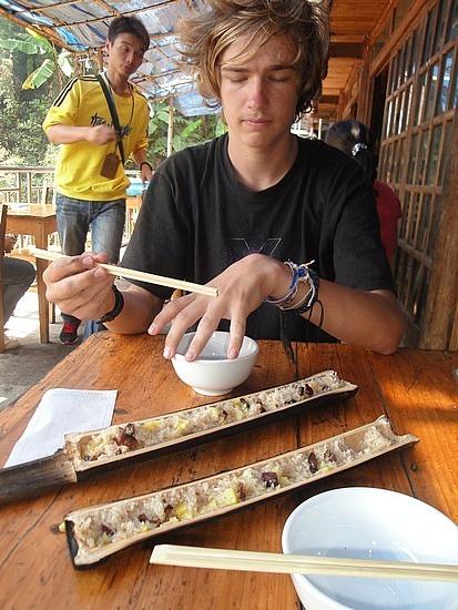 Banboo rice