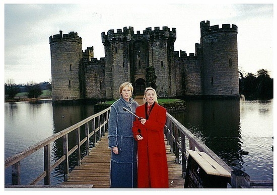 Holding the key to Bodiam Castle