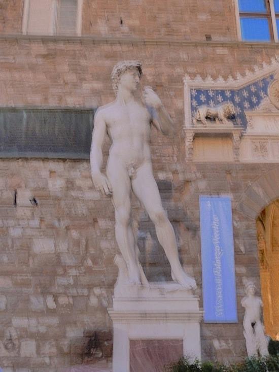 Replia of Michelangelos David