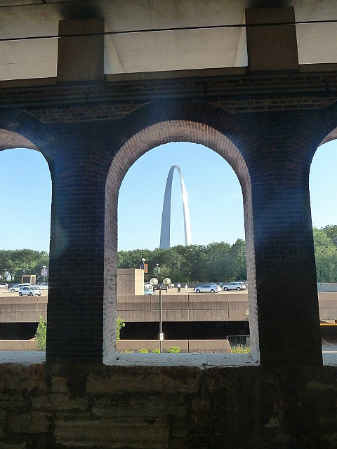 Arch through an arch