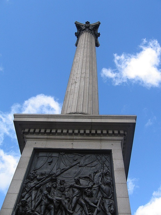 Nelsons Column Trafalgar Square